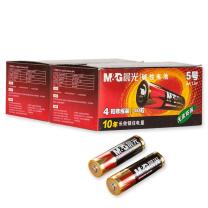 晨光 M&G 5号碱性电池 ARC92558  遥控器 电视 空调 键盘 鼠标 办公用品 (4粒收缩)2盒8节