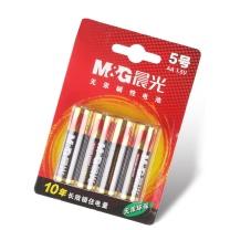 晨光 M&G 碱性电池5号 ARC92556  4节/卡