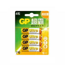超霸 GP 碱性电池 24A-L4 7号  4节/卡 144卡/箱 (新老交替发货)