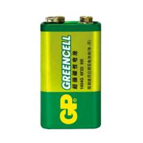 超霸 GP 碳性电池 1604G-S1 9V  1节/卡 500卡/箱