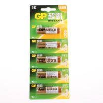 超霸 GP 碱性电池 LR6 5号 1.5V  5节/卡 120卡/箱 新老包装随机发货