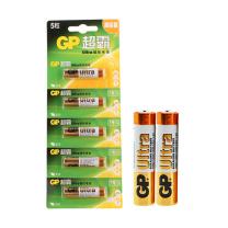 超霸 GP 碱性电池 GP24A-L5i LR03 AAA 7号  5节/卡 120卡/箱 (新老交替发货)