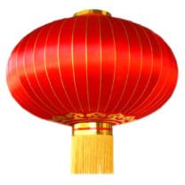 墨斗鱼 大红灯笼 中大号 中大号 (红色)