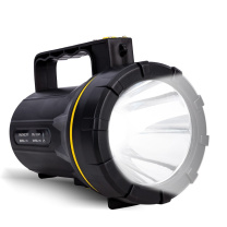得力 deli 强光手电筒 DL5421  远射手电探照灯充电式 防雨水 手提灯应急灯大功率工作灯