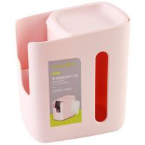 茶花 CHAHUA 收纳盒多功能纸巾盒 K02001 16.8*12.5*19cm  40个/箱