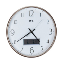 晨光 M&G 圆形挂钟 ARCN8253F3 13寸 (金)