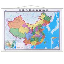 国产 新编中华人民共和国地图挂图 1.5*1m  (新老包装交替以实物为准)