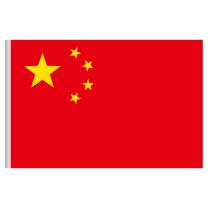 优和 UHOO 国旗 6194 96*144cm 4号 (红色)
