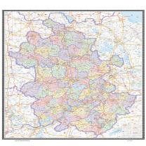 国产 安徽地图 定制 1.06米*0.76米