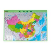 晨光 M&G 晨光中国地图小尺寸挂图水晶版 ASD99827 59.3*42.4cm