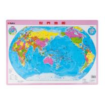 晨光 M&G 晨光世界地图小尺寸挂图水晶版 ASD99827 59.3*42.4cm