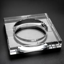 侑家良品 烟灰缸 YMH-2508 20cm (透明)
