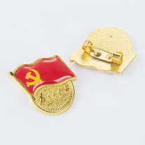 金隆兴 Glosen 标准款党徽胸章 磁铁扣式 9365-5  5个/包
