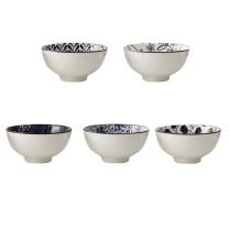 栢士德 弗米多套装 BST-1016 4.5寸  陶瓷碗*5