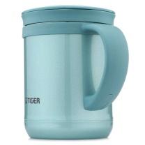 虎牌 TIGER 不锈钢真空保温杯 CWM-A035 350ml (高光银蓝AM) 12个/件