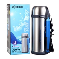 象印 ZOJIRUSHI 附带杯盖不锈钢真空保温壶 SF-CC18-XA 1.8L  6个/箱