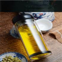 臻品优荟 双层玻璃杯 MS-1801 280ML (本色)