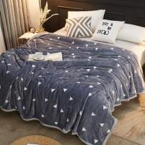 南极人 法兰绒毯子 150*200cm