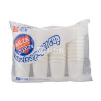 科力普 COLIPU 办公之选 经济白纸杯 9盎司 250ml  100只/包 10包/箱