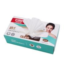 好媳妇 抽取式木浆纤维一次性免洗抹布 6302 20cm*20cm (白色) 60片/盒 点断家用清洁不沾油