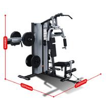 舒华 室内力量训练健身三人站综合训练器 SH-G5203 三人站 (黑色)