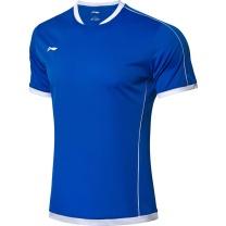 李宁 LI-NING 足球系列速干比赛套装 AATN071-2 S-XXXL码 (晶蓝色)