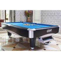 腾勃 TB 台球桌 TOH-4 2.6m*1.4m*0.84m  花式标准成人家用九球桌美式桌球台黑8球房多功能二合一乒乓球桌 (不含卸货安装)