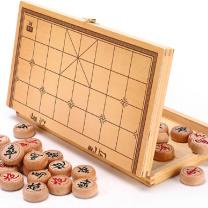 国产 象棋 折叠便携棋盘 36*20.2*4.1cm (黄色)