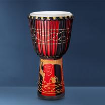 邂逅 新款羊皮非洲鼓 SH-56410  丽江手鼓专业演出教学非洲鼓