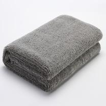 车旅伴 双面加厚洗车毛巾 HQ-QX056 160*60cm 大号 (灰色蓝色随机发货) 2条/组 10组/箱