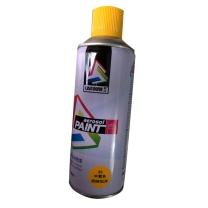 联动 自动手喷漆罐金属防锈漆家具木器漆汽车涂鸦墙面400ML中黄色 400ML (中黄色)