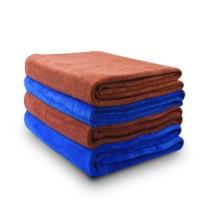 国产 加厚吸水擦车巾 160*60cm (咖啡色)