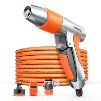 亿力 家用洗车水枪 骁龙15米水管套装  高压洗车水管,汽车用品,xl15 配15米水管