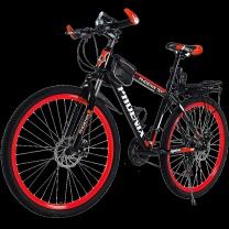 凤凰 自行车 男款 26寸 (红色)