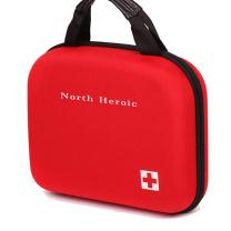 北豪 车用工具硬包 CR34D (红色) 包含6大类34种174件急救物品
