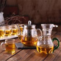 国产 耐热玻璃茶具套装  -GD