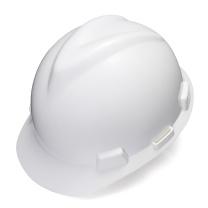 梅思安 MSA 标准型安全帽 10172901 (白色) (顶部无透气孔)