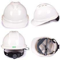 梅思安 MSA 豪华型安全帽 10172476 (白色) (顶部带透气孔)