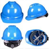 梅思安 MSA 豪华型安全帽 10172480 (蓝色) (顶部带透气孔)
