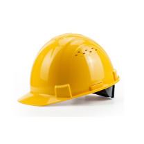 霍尼韦尔 honeywell 安全帽 ABS防砸抗冲击黄色带透气孔 H99