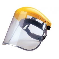 霍尼韦尔 honeywell 防冲击面罩 防护面屏 BD-176B头盔支架+SE-173A面屏1套