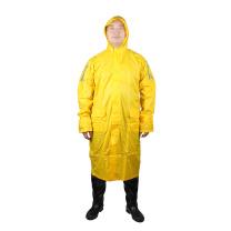 代尔塔 DEITAPLUS 连体式雨衣 MA400 L (黄色)