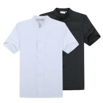森忆恬 短袖厨师工作服 XL码 (白色)