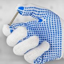 科力普 COLIPU 点塑 棉线手套 12副/打