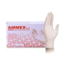 爱马斯 AMMEX 一次性使用医用橡胶检查手套 TLFCVMD44100 M  100只/盒 下单前请联系采购