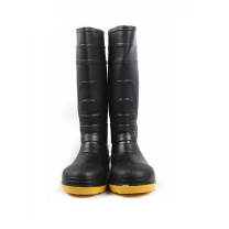 莱尔 LEVER 高帮双钢雨鞋 SL-2-91 44码  1双/盒