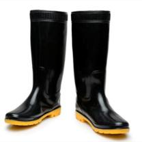 强鹰 长筒耐酸碱雨鞋 38CM 41码 (黑色)