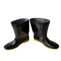 强鹰 中筒耐酸碱雨鞋 30CM 44码 (黑色)