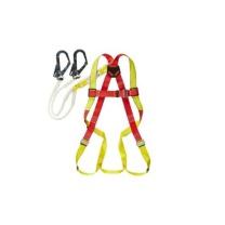 霍尼韦尔 honeywell 单挂点集成式安全带 大号(配 1.2米双挂钩缓冲系绳) DL-C2L  1件