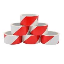 赛拓 斑马警示胶带 2018 红白4.8cm*18Y-6卷装